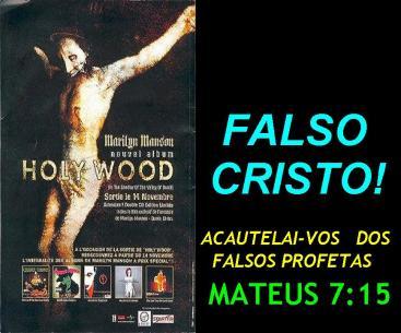 falso cristo da maranata - uma igreja de falsos profetas